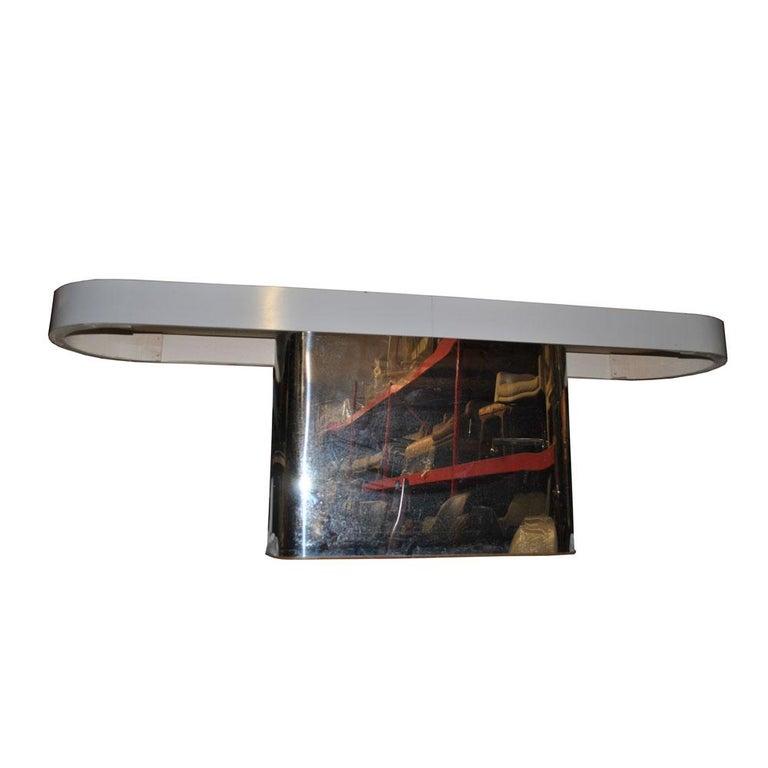 Late 20th Century Milo Baughman For Thayer Coggin Console Sofa Table For Sale
