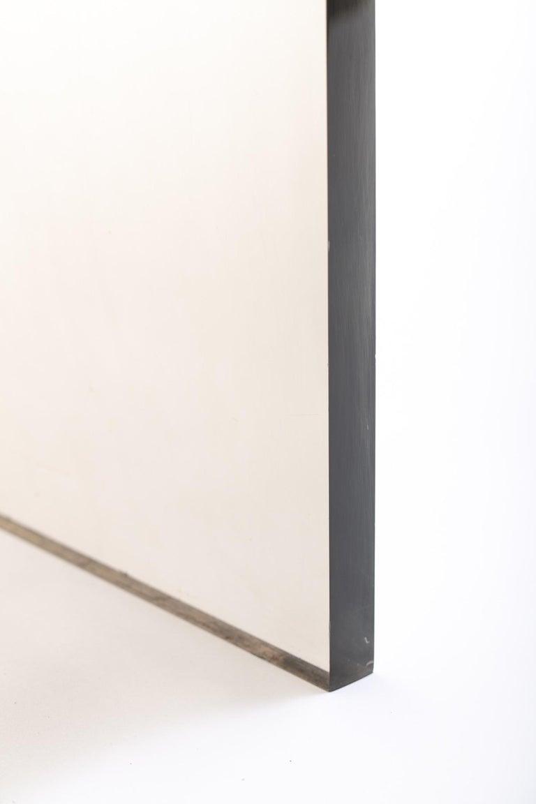 Milo Baughman for Thayer Coggin Lacquer and Smoke Lucite Credenza  For Sale 4