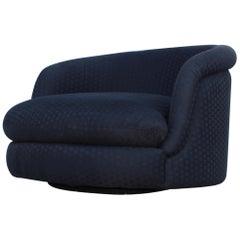 Milo Baughman for Thayer Coggin Large Swivel Lounge Chair
