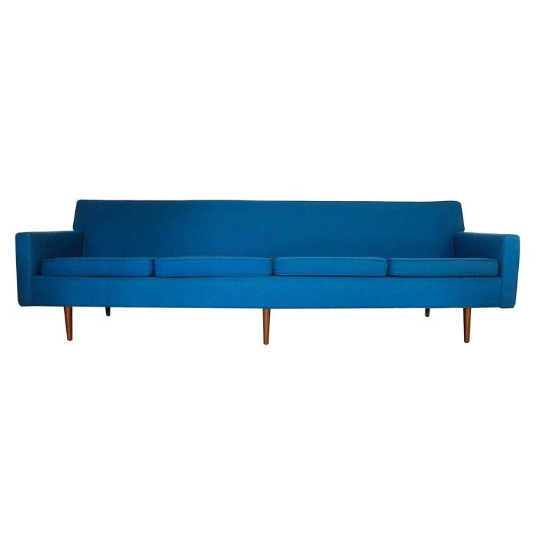 Milo Baughman for Thayer Coggin Mid-Century Modern Sofa For Sale