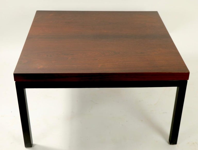 Milo Baughman for Thayer Coggin Rosewood Table For Sale 2