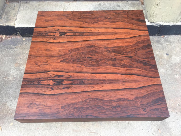 Milo Baughman for Thayer Coggin Rosewood Table For Sale 5