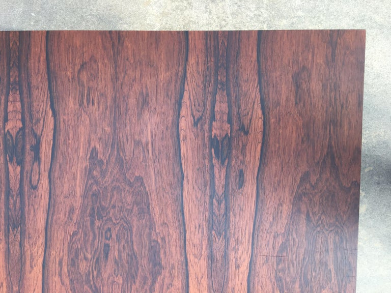 Milo Baughman for Thayer Coggin Rosewood Table For Sale 1