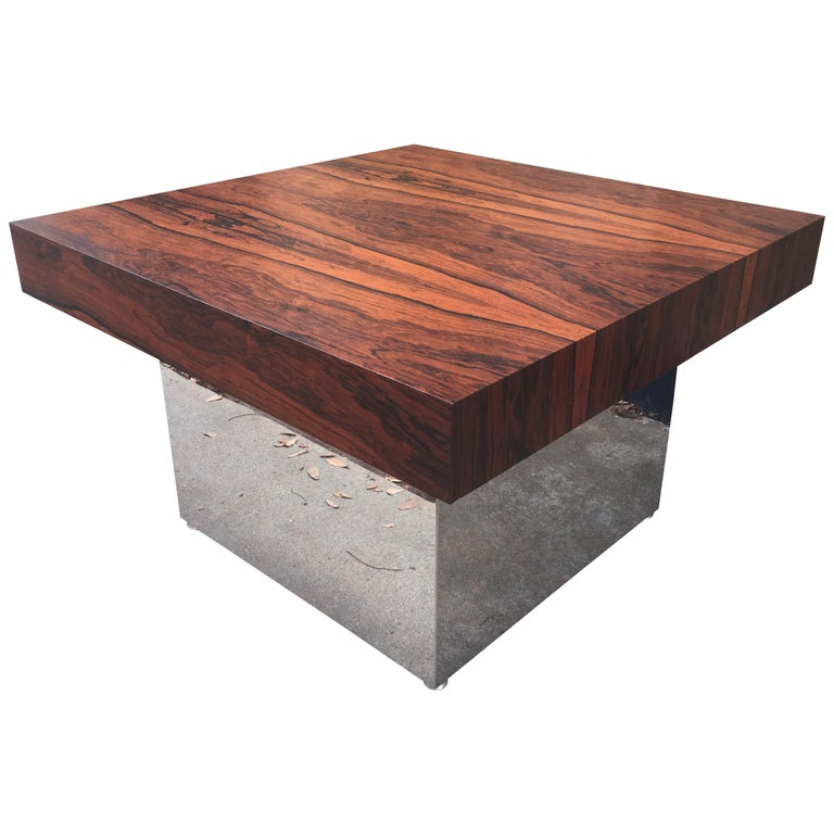 Milo Baughman for Thayer Coggin Rosewood Table For Sale