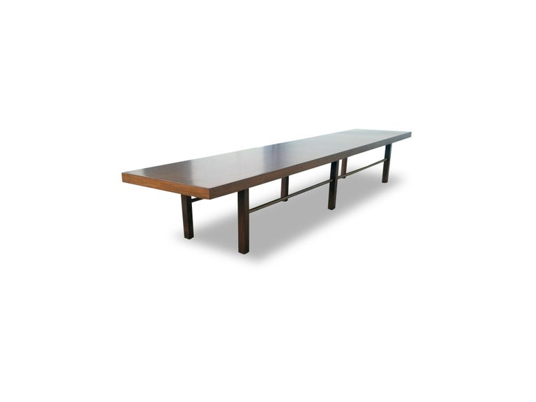 Milo Baughman for Thayer Coggin table or bench.