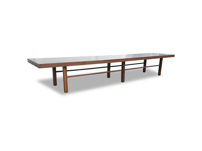 Mid-Century Modern Milo Baughman for Thayer Coggin Table or Bench For Sale