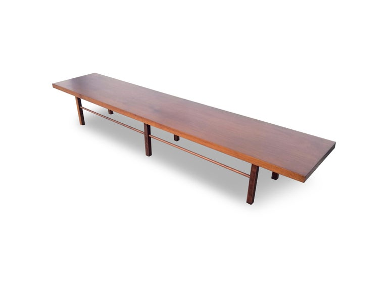 American Milo Baughman for Thayer Coggin Table or Bench For Sale