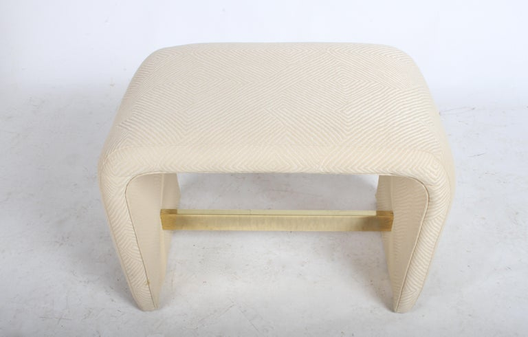 Milo Baughman for Thayer Coggin Waterfall Ottoman or Bench For Sale 4