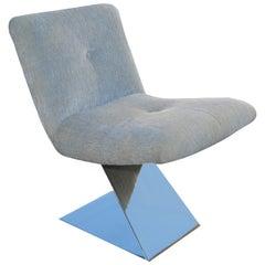 Milo Baughman for Thayer Coggin Z Lounge Side Chair