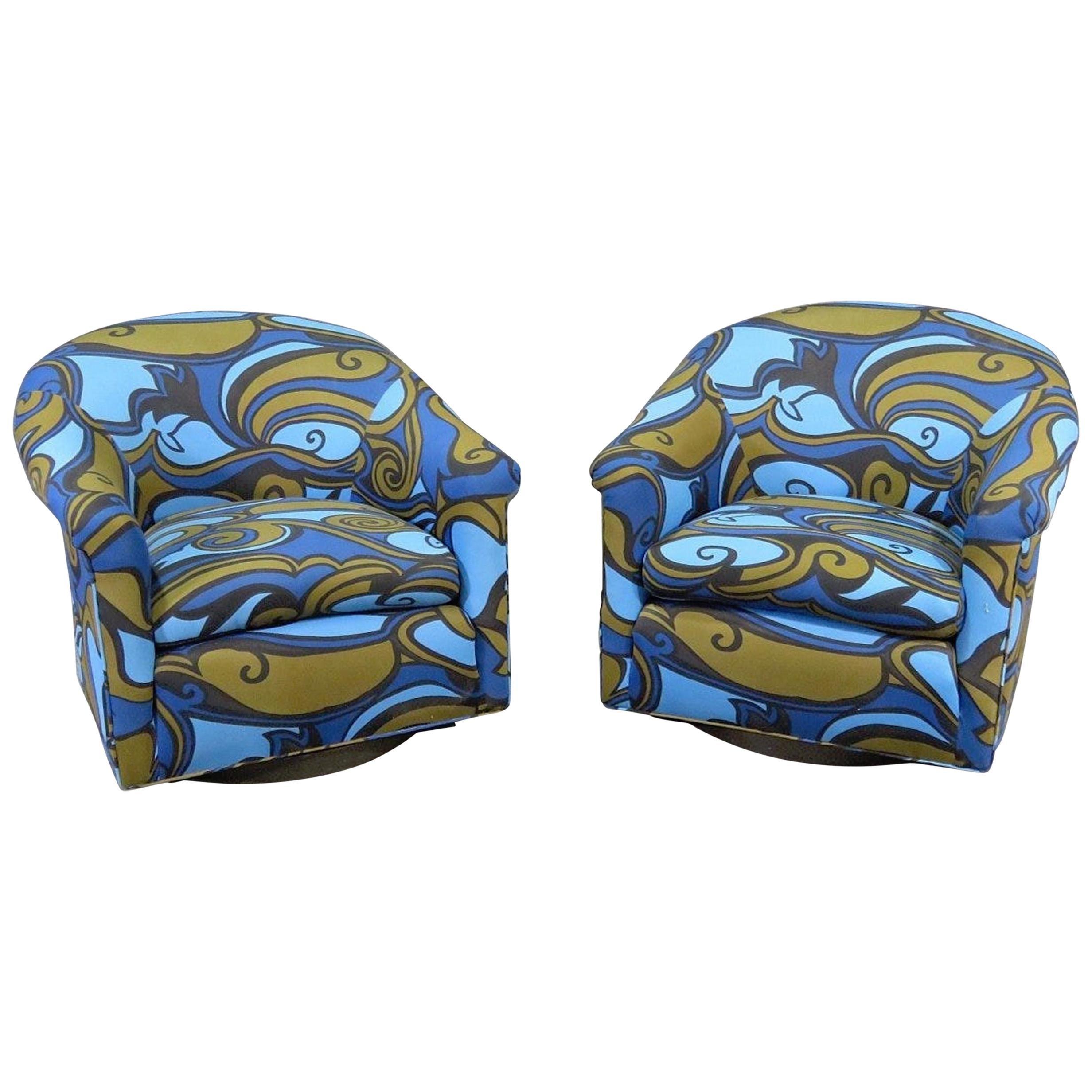Milo Baughman Mid-Century Chairs