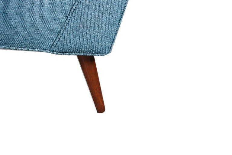 Milo Baughman Mid Century Lounge Chair Ottoman 3