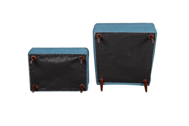 Milo Baughman Mid Century Lounge Chair Ottoman 4