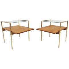 Milo Baughman Attributed Pair of End Tables for Murray Furniture, circa 1950s