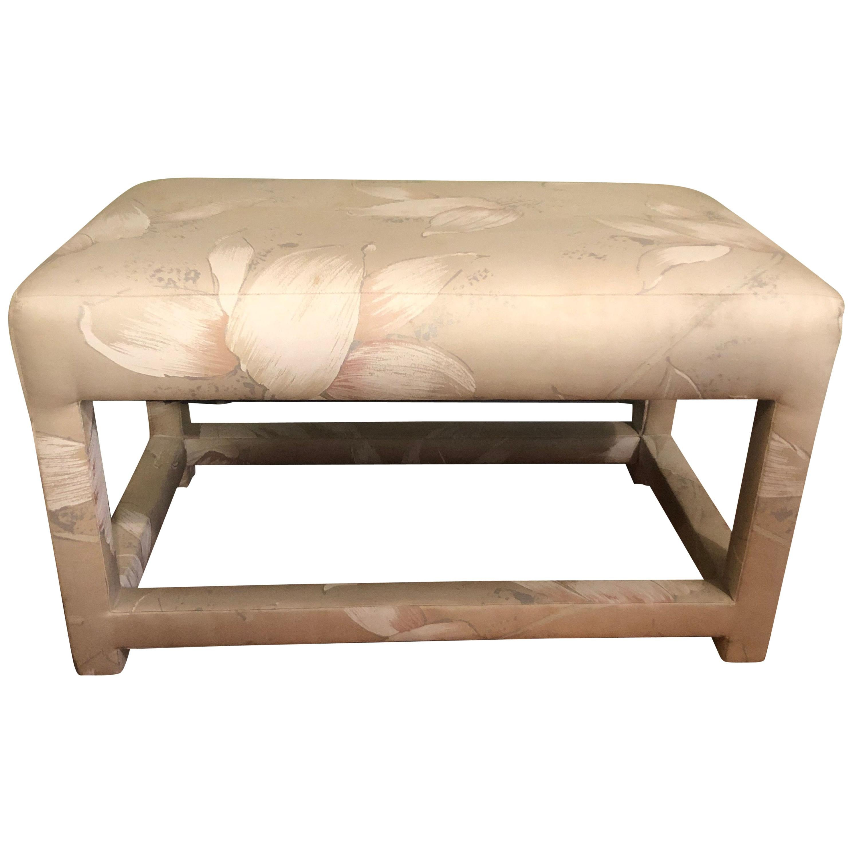 Milo Baughman Parsons Bench or Footstool