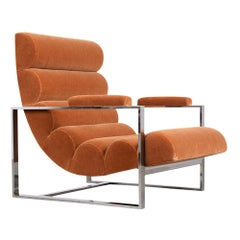 Milo Baughman Recliner Lounge Chair