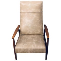 Milo Baughman Reclining Lounge Chair Thayer Coggin