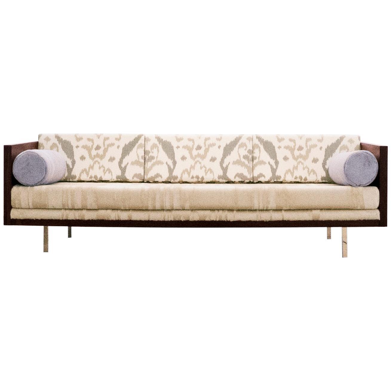 Milo Baughman, Rosewood Case Sofa, circa 1950 - 1959