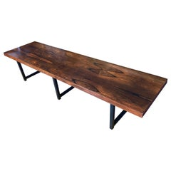 Milo Baughman Rosewood Long Bench or Table