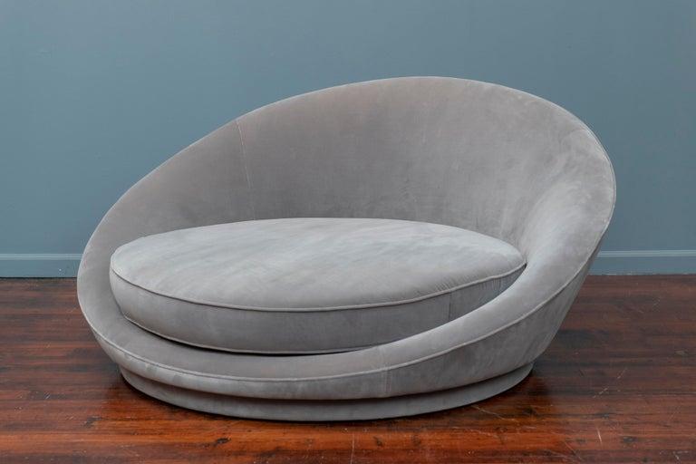Mid-Century Modern Milo Baughman Satellite Lounge Chair for Thayer Coggin For Sale