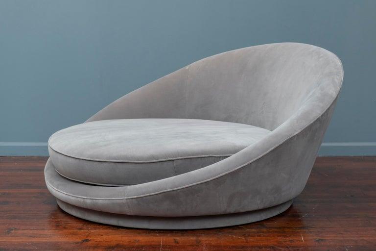 American Milo Baughman Satellite Lounge Chair for Thayer Coggin For Sale