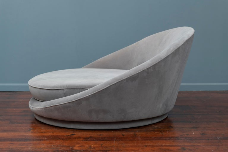 Milo Baughman Satellite Lounge Chair for Thayer Coggin In Good Condition For Sale In San Francisco, CA