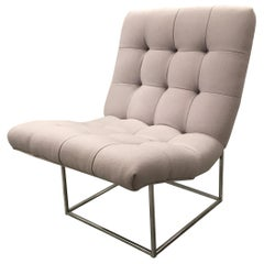Milo Baughman Scoop Chair by Thayer Coggin