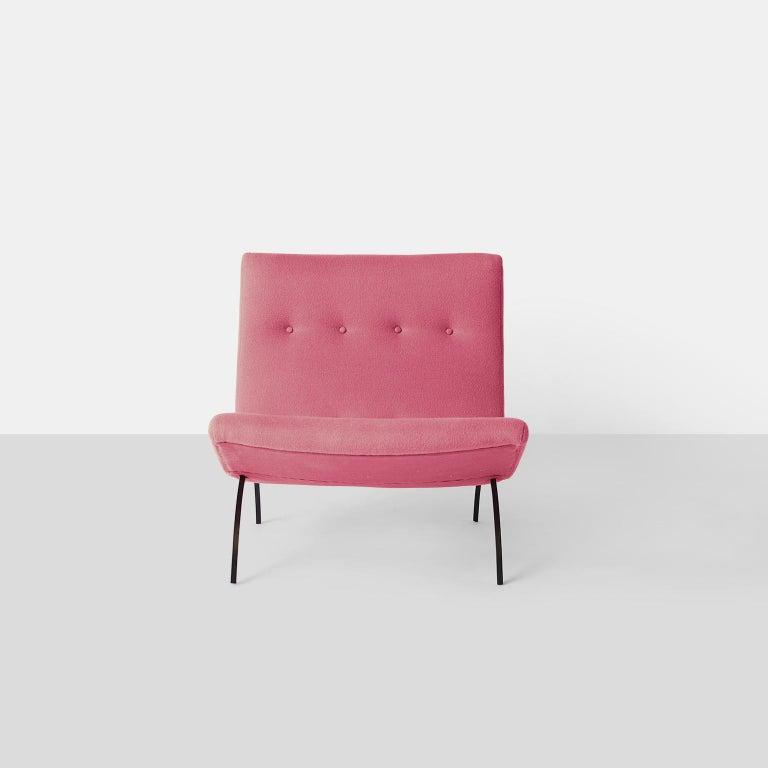 Mid-Century Modern Milo Baughman Scoop Chair For Sale