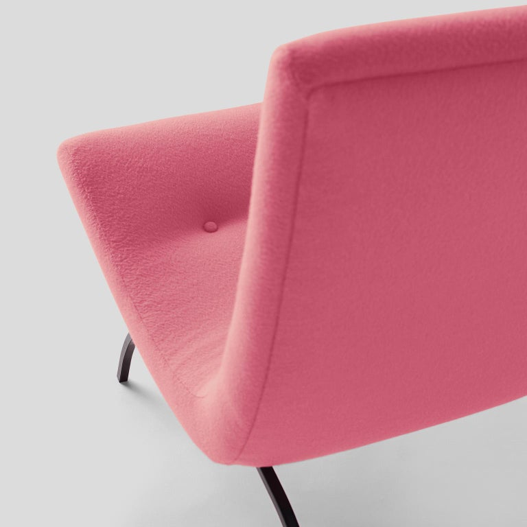 Mid-20th Century Milo Baughman Scoop Chair For Sale