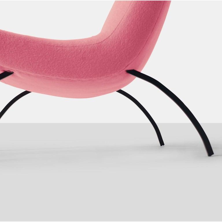 Milo Baughman Scoop Chair For Sale 1