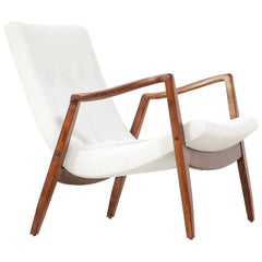 "Milo Baughman ""Scoop"" Lounge Chair for James Inc."