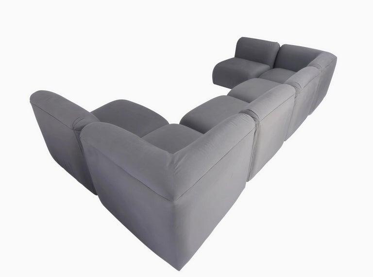 American Milo Baughman Sectional Sofa For Sale