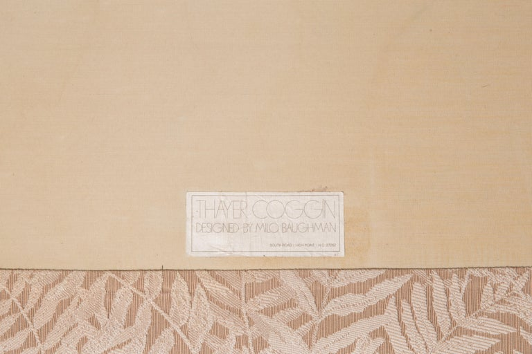 Milo Baughman Sofa for Thayer Coggin In Good Condition In Hudson, NY