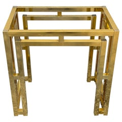 Milo Baughman Style Brass Table Base
