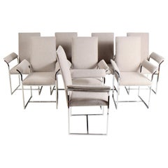Milo Baughman Style Dining Chairs by Cal-Style Furniture