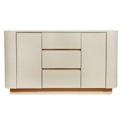 Milo Baughman Style Formica Sideboard
