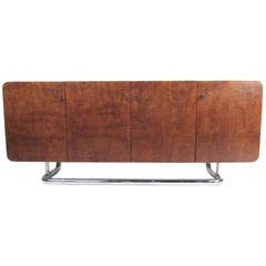 Milo Baughman Style Modern Sideboard for Founders