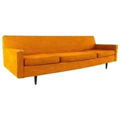 Milo Baughman Style Selig Mid Century Sofa
