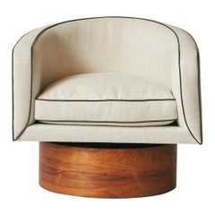 Milo Baughman Swivel Chair for Thayer Coggin