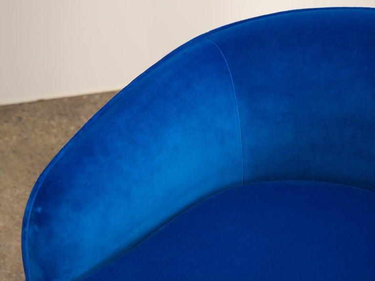 20th Century Milo Baughman Swivel Lounge Chairs For Sale