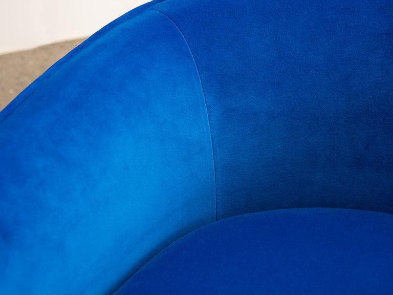Milo Baughman Swivel Lounge Chairs For Sale 2