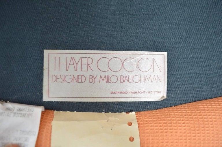 Milo Baughman Swivel Tilt Lounge Chair For Sale 4