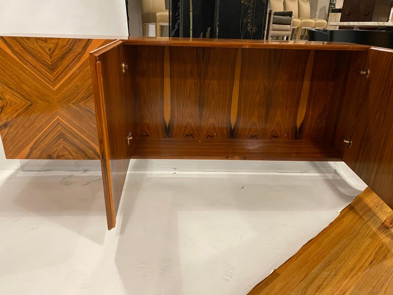 Milo Baughman Thayer Coggin Rosewood Wall Mounted Cabinet For Sale 6