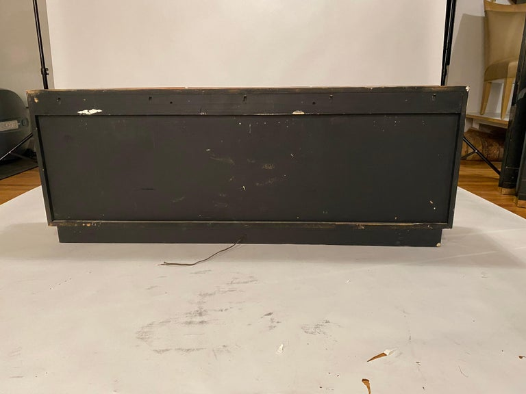 Milo Baughman Thayer Coggin Rosewood Wall Mounted Cabinet In Good Condition For Sale In Chicago, IL