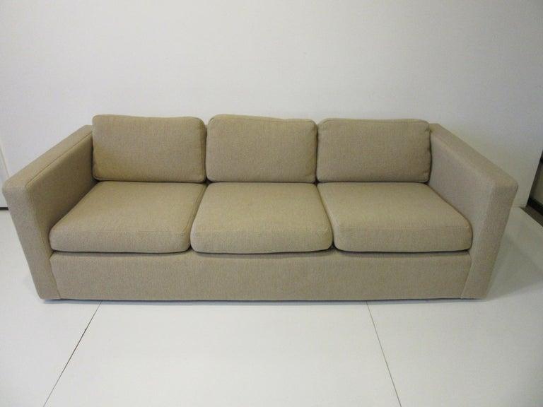 Milo Baughman Tuxedo Styled Sofa for Thayer Coggin For Sale 2