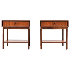 Milo Baughman Two-Tier Nightstands for Arch Gordon