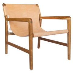 Milo Beige Lounge Chair