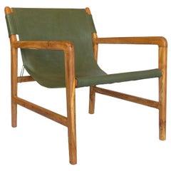 Milo Green Lounge Chair