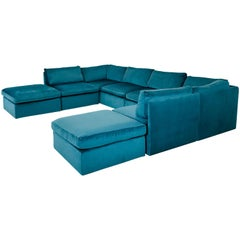Monumental Milo Baughman Modular Sofa