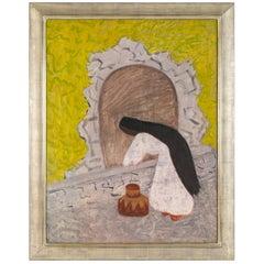 """Milton Avery """"Agua"""" Oil on Canvas, USA, 1946"""