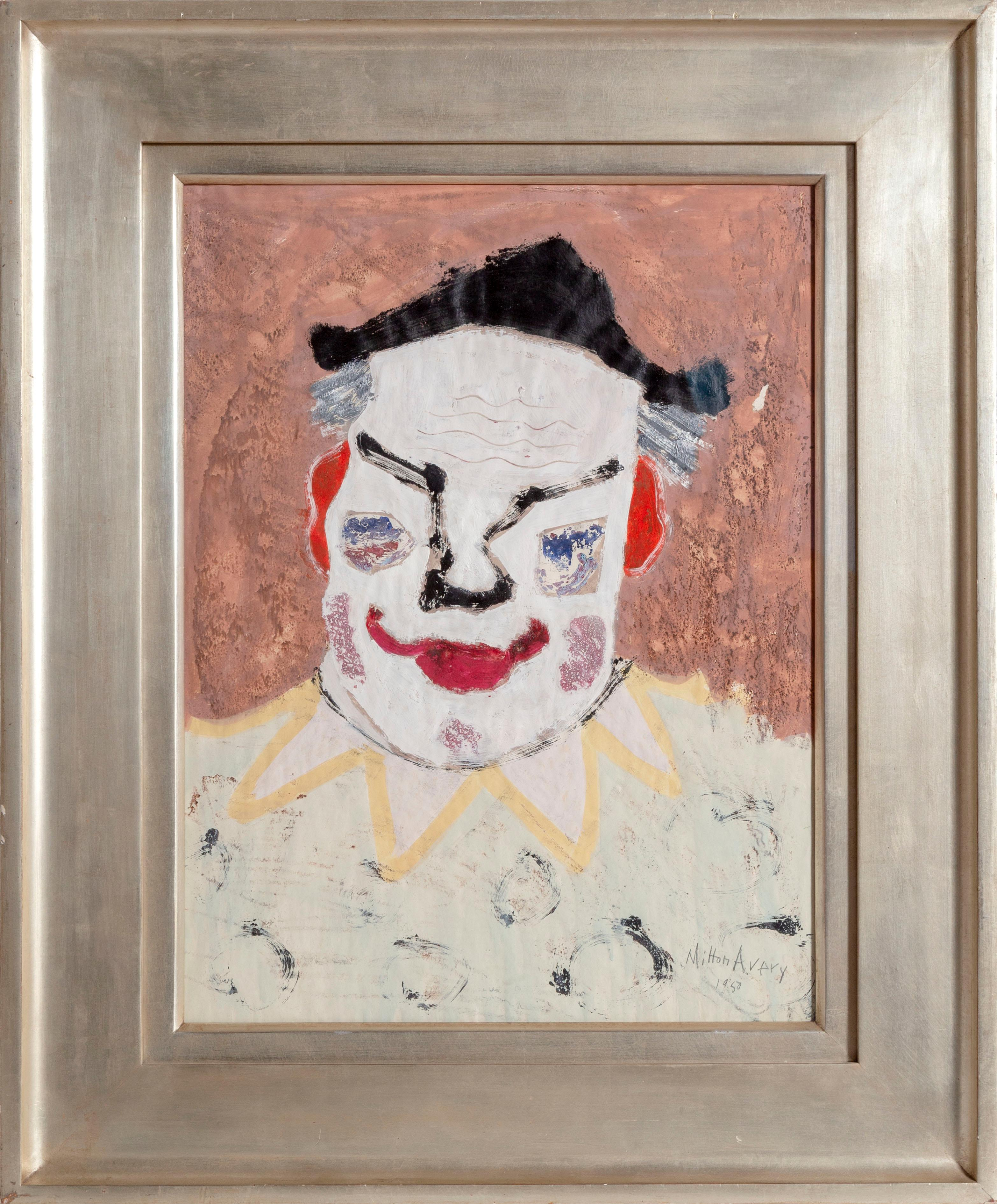 Clown Paintings - 109 For Sale on 1stdibs